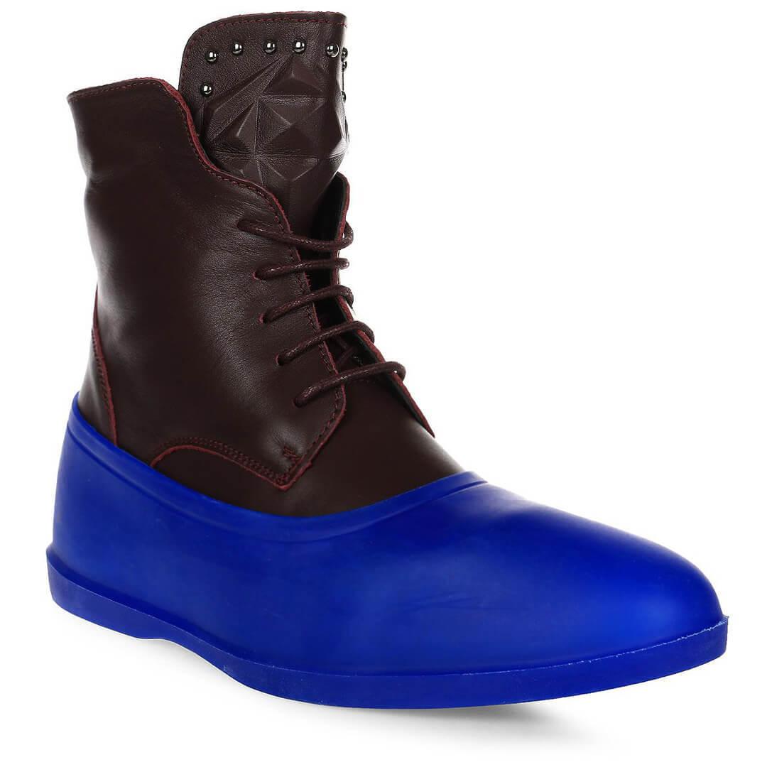 Галоши на обувь Rain-Shoes синие