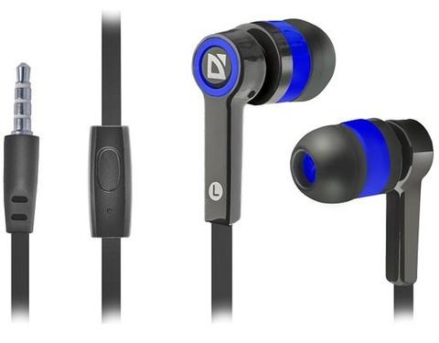 Defender / Наушники Pulse 420 с микрофоном | черный синий