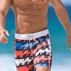 Мужские плавательные шорты Aussiebum Beach Shorts Geometrical