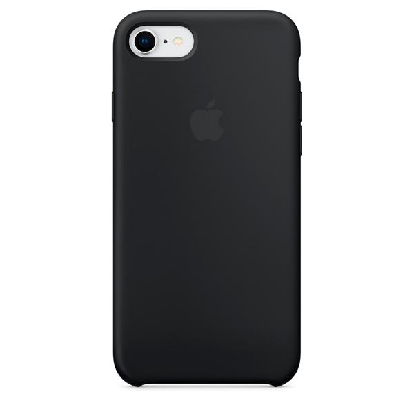 Чехол Apple iPhone SE 2020/7/8 Silicone Case Black (18)