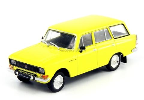 Moskvich-2137 bright yellow 1:43 DeAgostini Auto Legends USSR #133