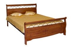 Кровать Агата 200x140 (836-SN-KD MK-2102-RO) Темная вишня