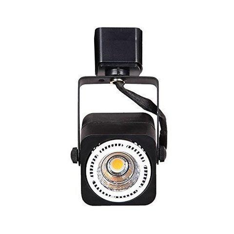 трековый светильник под лампу MR16 GU5.3 (черный)