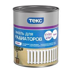 Эмаль алкидная Текс для радиаторов, 0,9кг