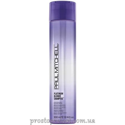 Paul Mitchell Original Platinum Blonde Shampoo - Відтіночний шампунь для освітленого волосся