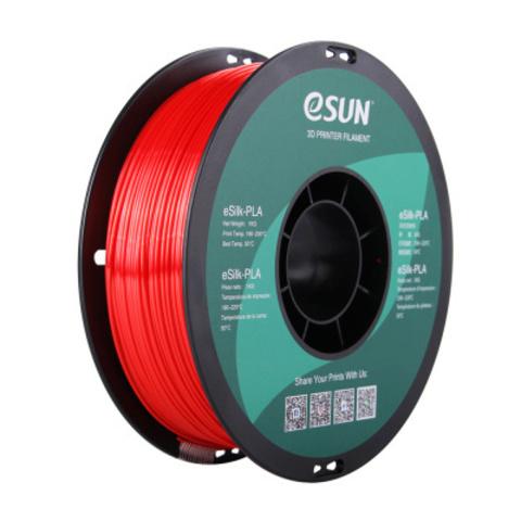 ESUN eSilkPLA, 1.75 мм, 1 кг, красный