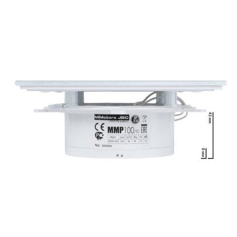 Вентилятор MMotors JSC MMP-90 стекло - Белый
