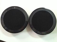 Амбушюры для Steelseries Siberia V1, V2, V3, Siberia 200 (Черные)