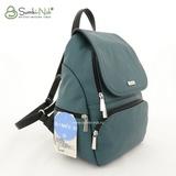 Сумка Саломея 502 аквамарин + черный (рюкзак)