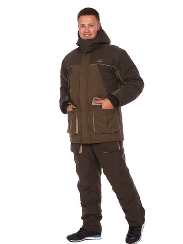 Костюм Арктика с полукомбинезоном -40 градусов (мембрана Исландия) Вожак