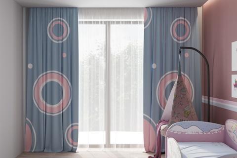 Комплект штор для детской комнаты Bubble