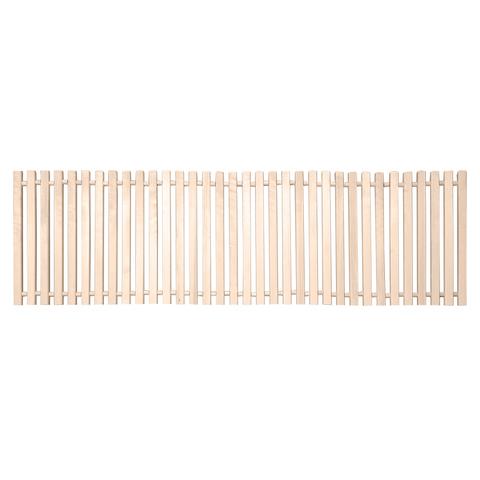 Коврик деревянный, липовая рейка, 50х150 см