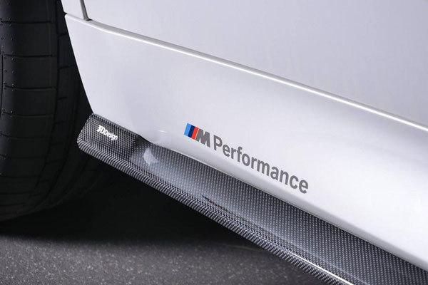 Карбоновые пороги   для BMW X6 F16