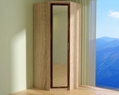 Шкаф ВЕНА угловой с зеркалом /903*2200*903/ левый