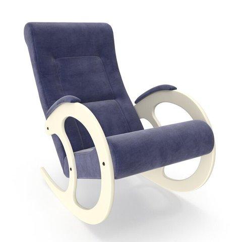 Кресло-качалка Комфорт Модель 3 дуб шампань/Verona Denim Blue