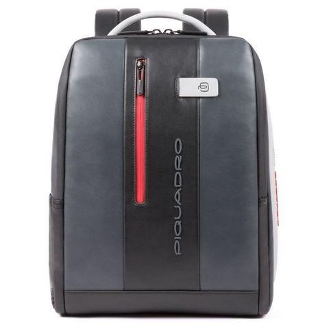 Рюкзак мужской Piquadro Urban (CA4818UB00/GRN) серый/черный кожа
