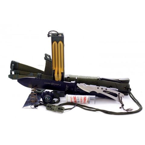 Нож для выживания Аллигатор-2 НК5696 Pirat