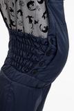 Утепленный комбинезон для беременных 04523 синий