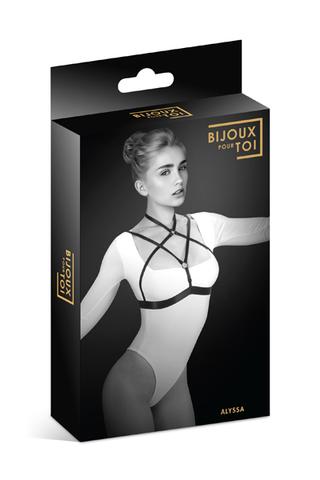 Bijoux Pour Toi Фиксация: упряжь на грудь Алисса Harnais de poitrine elastique Alyssa