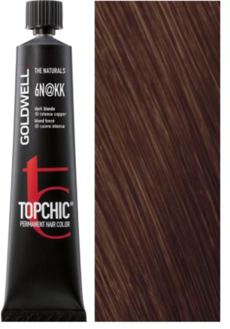 Goldwell Topchic 6N@КК - темный блонд с интенсивно-медным сиянием (медный пепел) TC 60ml