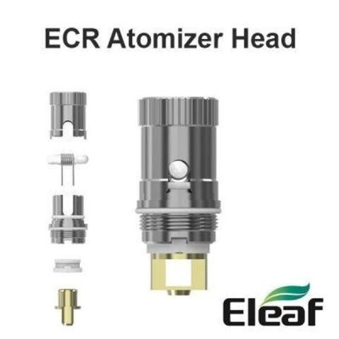 База Eleaf ECR head (RBA) Melo*iJust*Atlantis(2) (+вата+кантал)
