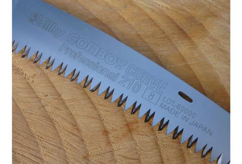 Пила Silky Gomboy Curve 8зуб/30мм с изогнутым лезвием