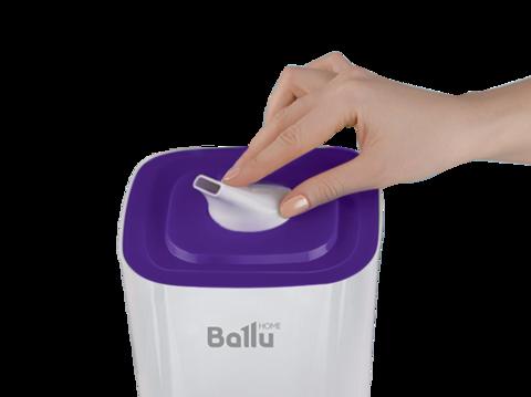 Ультразвуковой увлажнитель воздуха Ballu UHB-205 | Белый / Фиолетовый