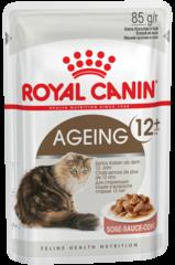 Пауч для кошек старше 12 лет, Royal Canin Ageing +12 (в соусе)