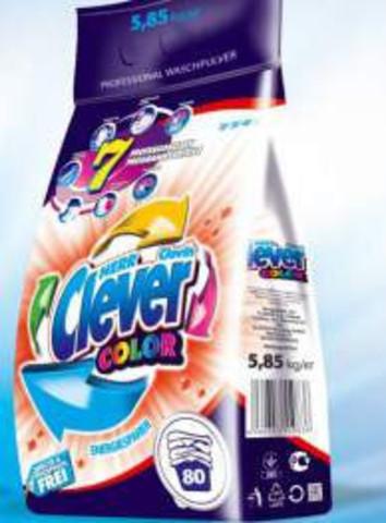 Стиральный порошок HERR CLEVER Color для цветных тканей 4.2кг