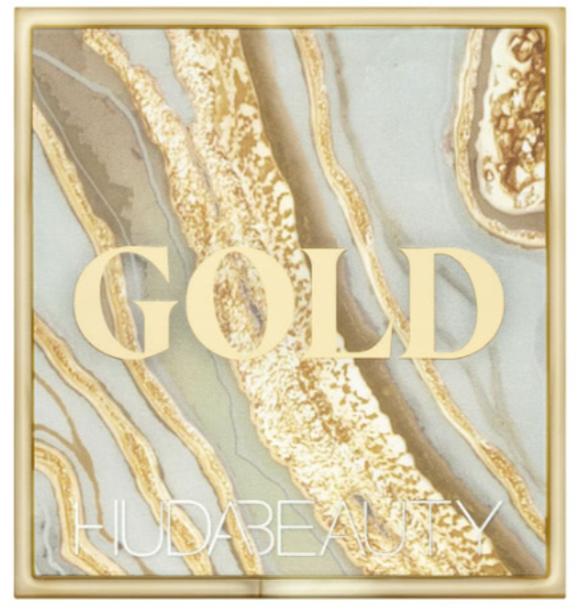 HUDA BEAUTY Obsessions Gold палетка теней