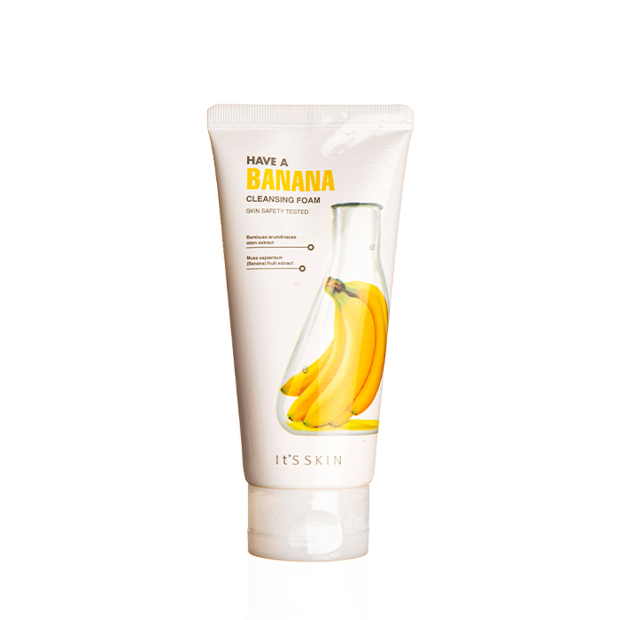 Пенки для умывания Пенка для умывания активно увлажняющая с бананом  IT'S SKIN  HAVE A BANANA CLEANSING 150 мл 21adac46a5c4b4435d6ad8848b753144.jpg