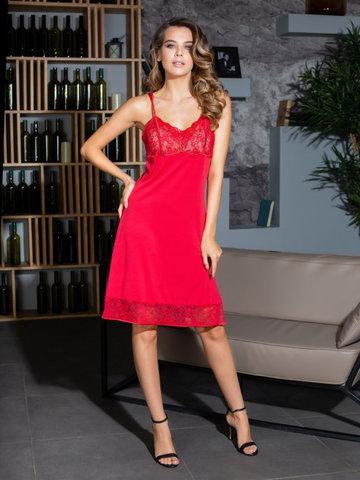 Сорочка женская MIA-MIA Elegance ЭЛЕГАНС Леди в красном 12024