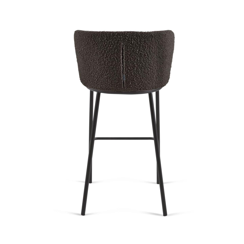 Барный стул CISELIA черный - вид 5