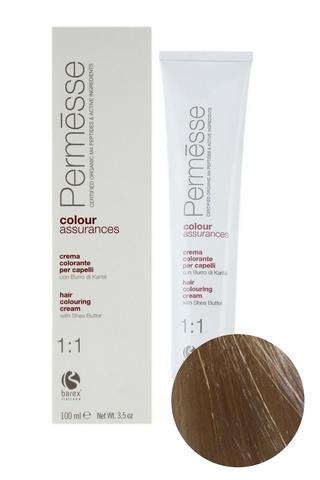 Крем-краска для волос 10.7 Экстра светлый блондин фиолетовый Permesse, Barex