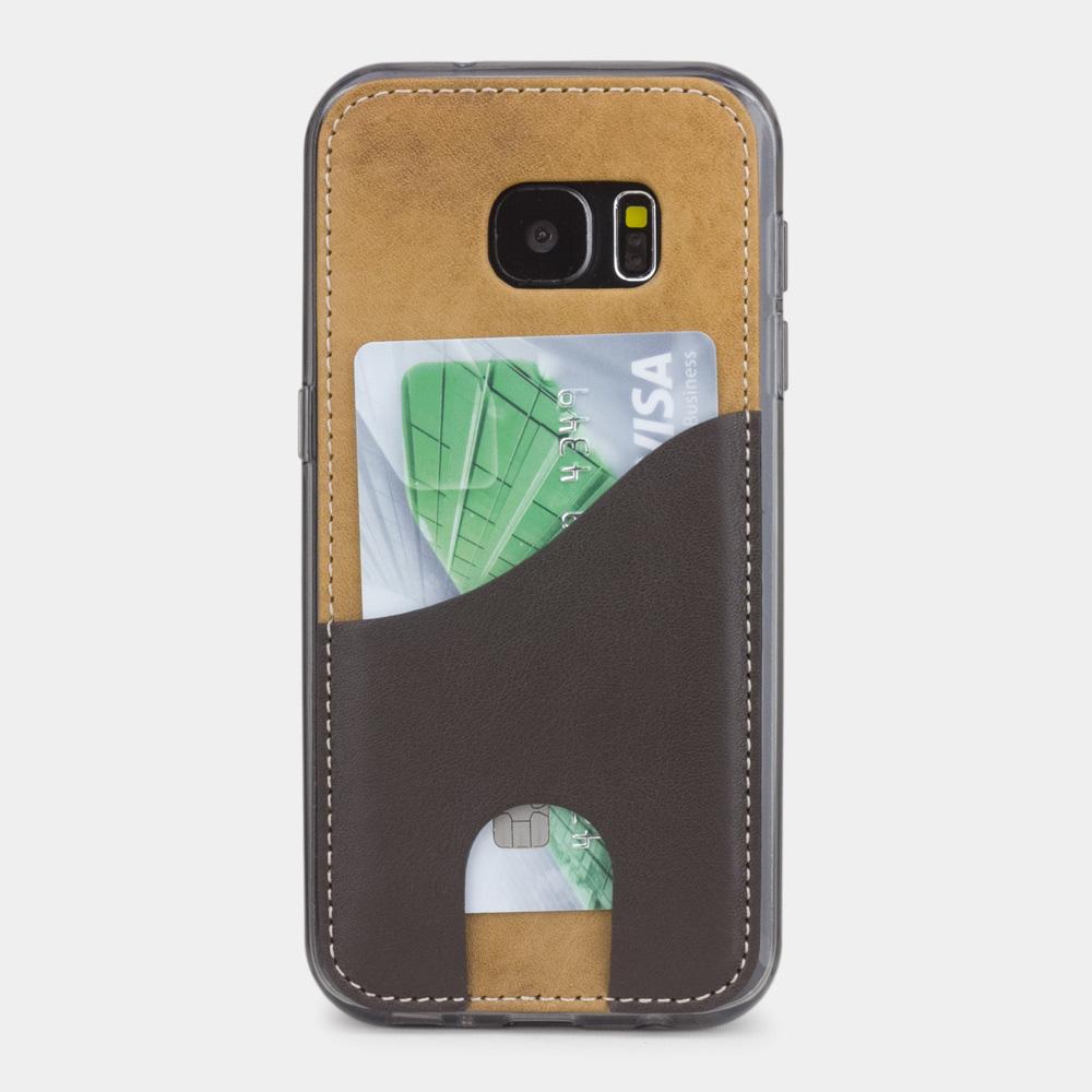 Чехол-накладка Andre для Samsung S7 из натуральной кожи теленка, цвета винтаж