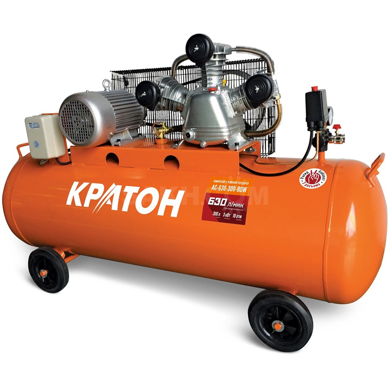 КРАТОН Компрессор ременной масляный Кратон AC-630-300-BDW кратон.png