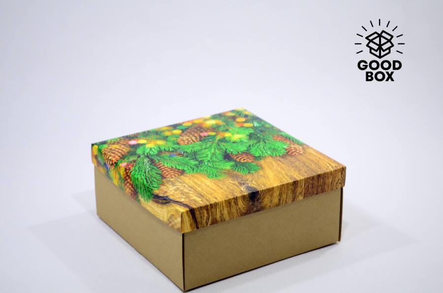 Крутые новогодние коробки купить с доставкой в Алматы