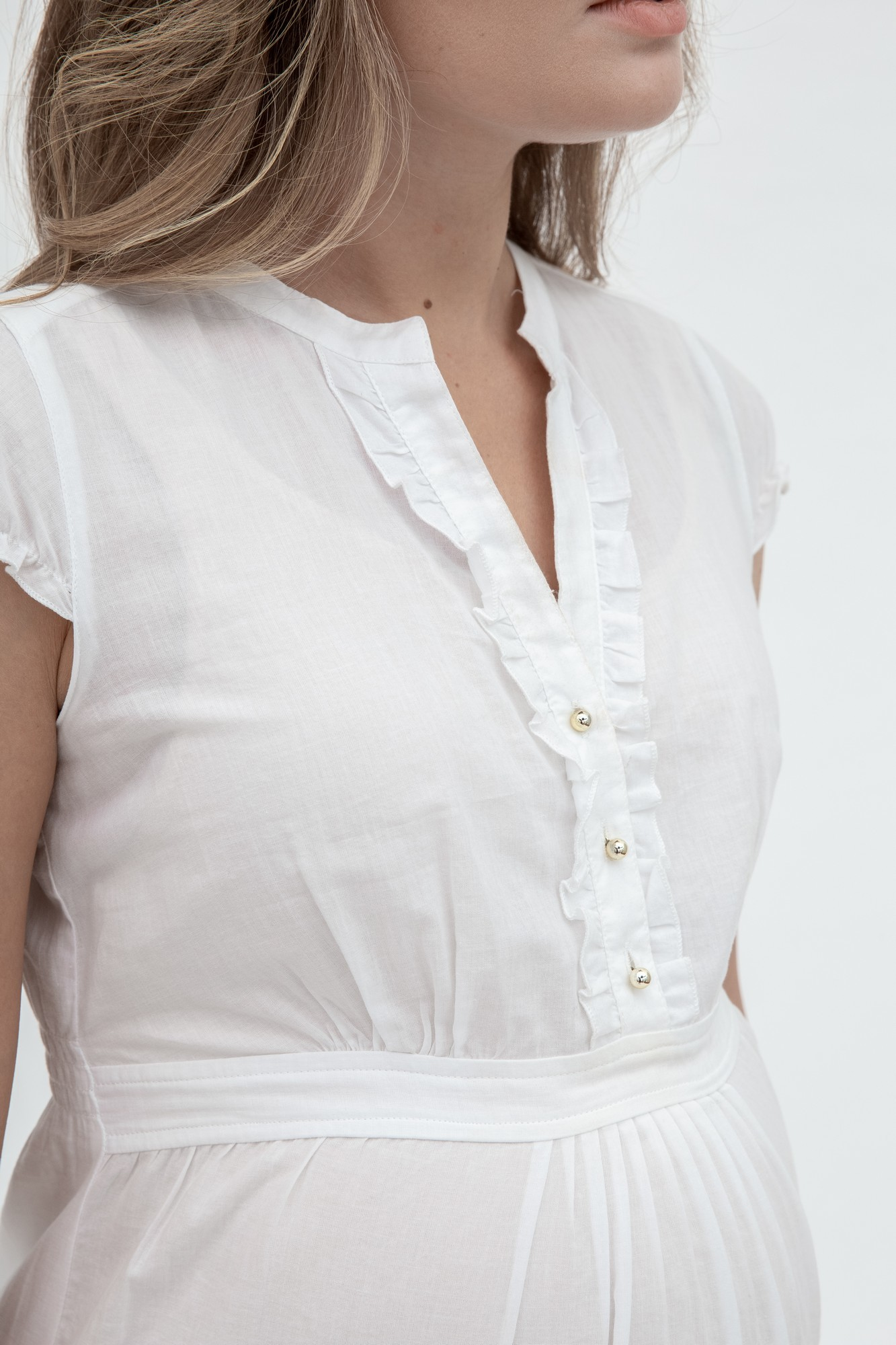 Рубашка для беременных 01329 белый