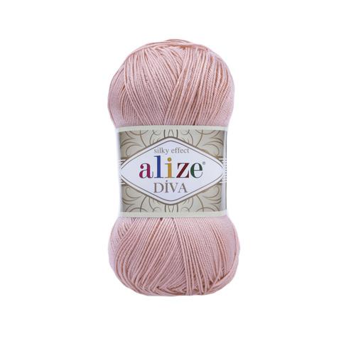 Пряжа Alize Diva 363 нежная роза