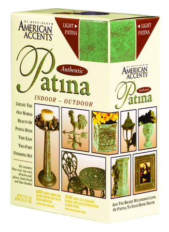 AMERICAN ACCENTS Authentic Patina Kit Светлая патина (аэрозоль+банка)
