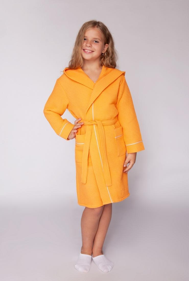 Оранжевый халатик