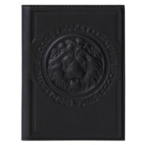 Обложка на паспорт «Royal». Цвет черный