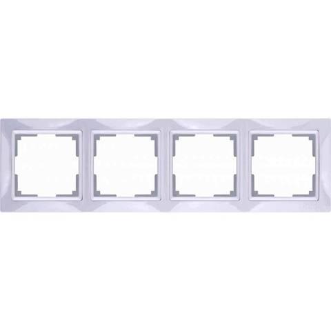 Werkel Рамка WL03-Frame-04 белый basic