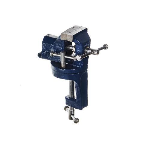 Тиски слесарные поворотные КОБАЛЬТ настольные, ширина губок 40 мм, захват 40 мм, 0.8 кг, коробка (248-306)