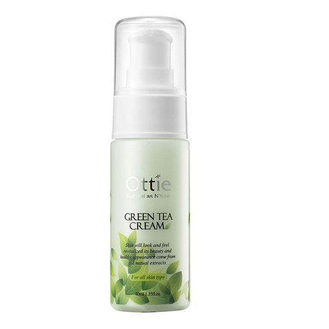 Крем для лица с зеленым чаем Ottie Green Tea Cream, 40 мл