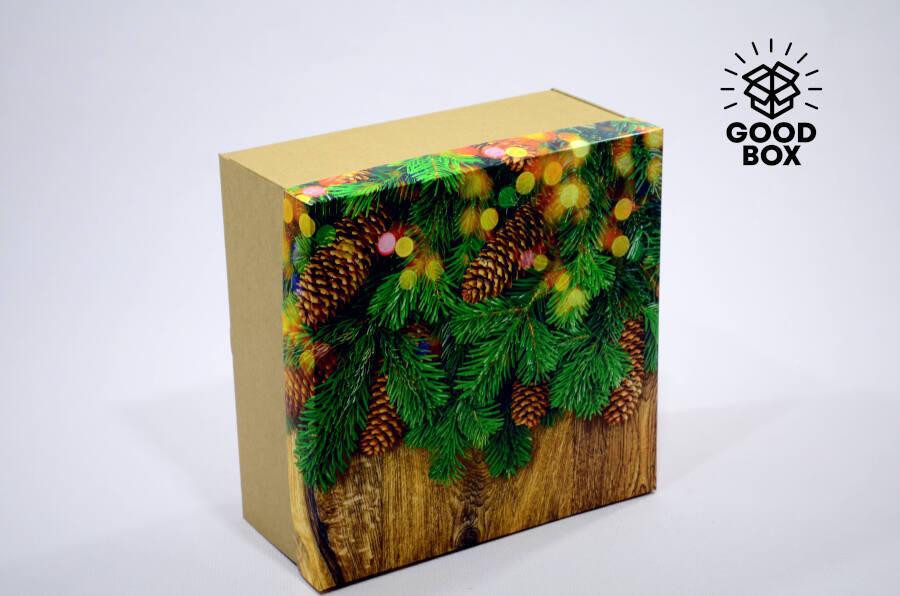Оригинальные новогодние коробки купить в Алматы