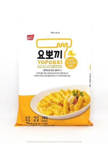 Рисовые клецки со сливочно-луковым соусом, Корея, 240 гр.