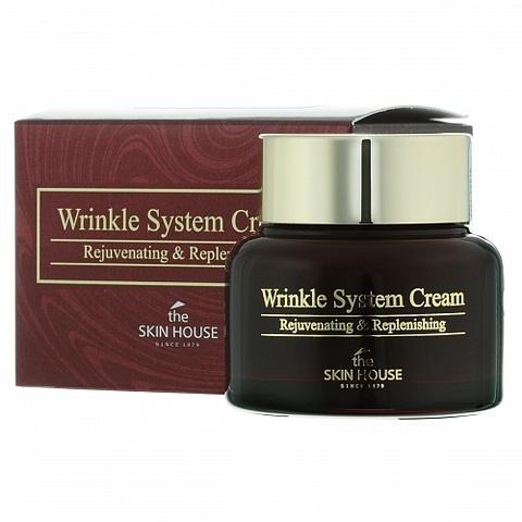 The Skin House Wrinkle System Cream питательный антивозрастной коллагеновый крем для лица