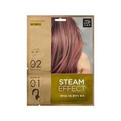 Паровая маска mise en scene Steam Hair Mask Pack Color Care 15ml + 20ml