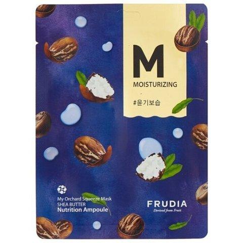 Frudia Маска тканевая восстанавливающая с маслом ши - My orchard squeeze mask shea butter set, 20 мл